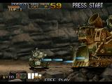 Metal Slug 6 Arcade Metal Slug 6's first major boss. No match for the Slug.