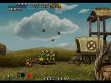 Metal Slug 6 Arcade A new feature of MS6 is the ability to melee at will. Rather than a knife, Tarma chooses to attack with a gag boxing glove.