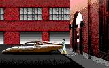 Mean Streets DOS Walking to your speeder. (EGA / TANDY)