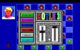 Hoyle: Official Book of Games - Volume 3 DOS Option menu. (16 Color EGA Version)