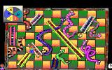 Hoyle: Official Book of Games - Volume 3 DOS Snakes and Ladders (16 Color EGA Version)