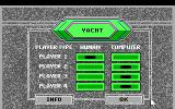 Hoyle: Official Book of Games - Volume 3 DOS Yacht - Set players options. (16 Color EGA Version)