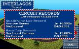 World Circuit DOS Track Information