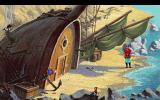 King's Quest V: Absence Makes the Heart Go Yonder! DOS Boat house. (CDROM version) (VGA)