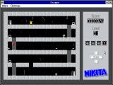 Escape Windows 3.x Playing on 1st level (in Russian)