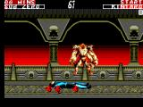 Mortal Kombat II SEGA Master System It only looks painful.