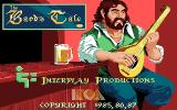 Tales of the Unknown: Volume I - The Bard's Tale Apple IIgs Title screen