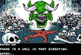 Dondra: A New Beginning Apple II Game over
