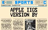 GBA Championship Basketball: Two-on-Two Apple IIgs Apple IIGS version by