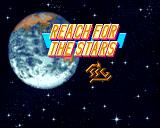 Reach for the Stars: The Conquest of the Galaxy Amiga Title screen