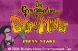 The Grim Adventures of Billy & Mandy Game Boy Advance Title screen.