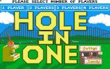 Hole-In-One Miniature Golf Amiga Number of players
