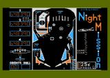 Night Mission Pinball Atari 8-bit Another game that needs NTSC artifacting to show colors.