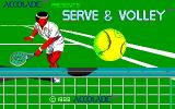 Serve & Volley Apple IIgs Title screen
