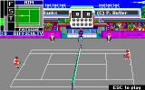 Serve & Volley Apple IIgs Game start