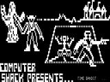 Time Bandit TRS-80 Loading screen
