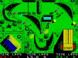 BMX Simulator ZX Spectrum Little time and so hard