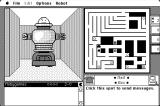 Maze Wars+ Macintosh Shooting the enemy in the back