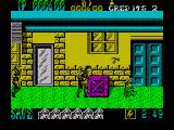Shinobi ZX Spectrum These hostages need to be rescued in order to proceed to the next level