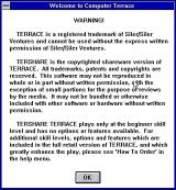 Terrace Windows 3.x The game starts with this shareware notice. This is followed by a 'How To Play' screen