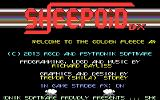 Sheepoid DX plus Woolly Jumper Commodore 64 Title screen