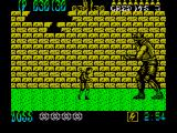 Shinobi ZX Spectrum The first boss need to be hit between the eyes to kill him