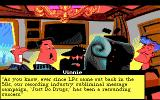 Leisure Suit Larry 5: Passionate Patti Does a Little Undercover Work DOS Part of the opening sequence (EGA/Tandy)