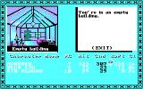 Tales of the Unknown: Volume I - The Bard's Tale DOS An empty building (CGA w/RGB Monitor)