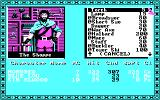 Tales of the Unknown: Volume I - The Bard's Tale DOS Buying an item at Garth's Equipment Shoppe (CGA w/RGB Monitor)