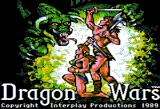 Dragon Wars Apple II Title screen
