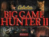 Cabela's Big Game Hunter II Windows Splash Screen