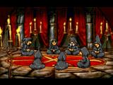 Discworld PlayStation Some dragon summoning hooded figures  (Intro sequence)