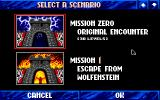 Wolfenstein 3D Apple IIgs Choose scenario