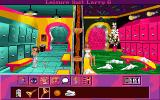 Leisure Suit Larry 6: Shape Up or Slip Out! DOS Larry in the locker room