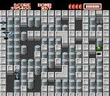 RoboWarrior NES This particular level is only one screen. Find the key!