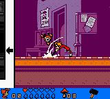 Spirou: The Robot Invasion Game Boy Color Is that a hammer?