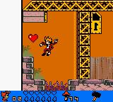 Spirou: The Robot Invasion Game Boy Color Heart.