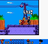 Spirou: The Robot Invasion Game Boy Color Found the exit.