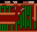 RoboWarrior NES Most items are found hidden inside obstacles or underground