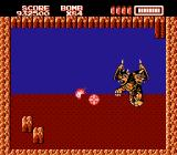 RoboWarrior NES This two headed lion flies around avoiding your bombs