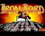 Iron Lord Acorn 32-bit Title screen