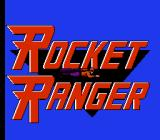 Rocket Ranger NES Title Screen