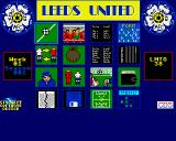 Leeds United Champions! Acorn 32-bit Main screen