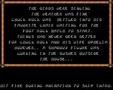 Chuck Rock Acorn 32-bit Start of intro