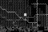 Rebel Charge at Chickamauga Apple II This game also has a black & white mode intended for monochrome monitors. It looks like this.