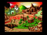 "Jim Power in ""Mutant Planet"" Amiga The Map"