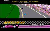 Indianapolis 500: The Simulation DOS Sky view (CGA w/Composite Monitor)