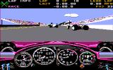 Indianapolis 500: The Simulation DOS Behind the wheel of a Lola/Buick (CGA w/Composite Monitor)