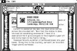 Zork Zero: The Revenge of Megaboz Macintosh About