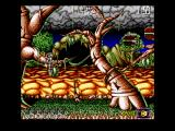 "Jim Power in ""Mutant Planet"" Amiga Stage 4"